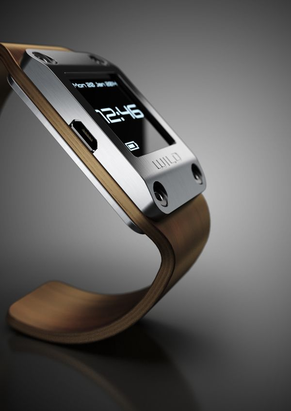 Wild elegant wood watch  Wild elegant wood watch  Nice personal project of digital watch with tft display. The student Štěpán Jirka trying to combine elegant warm look of a wood with very industrial and technical case. Autor: Štěpán Jirka Zone: Czech Republic Colors:      Silver   Material: Metal, tin, foil, Wood Founded on: behance Thursday, 27 March 2014.
