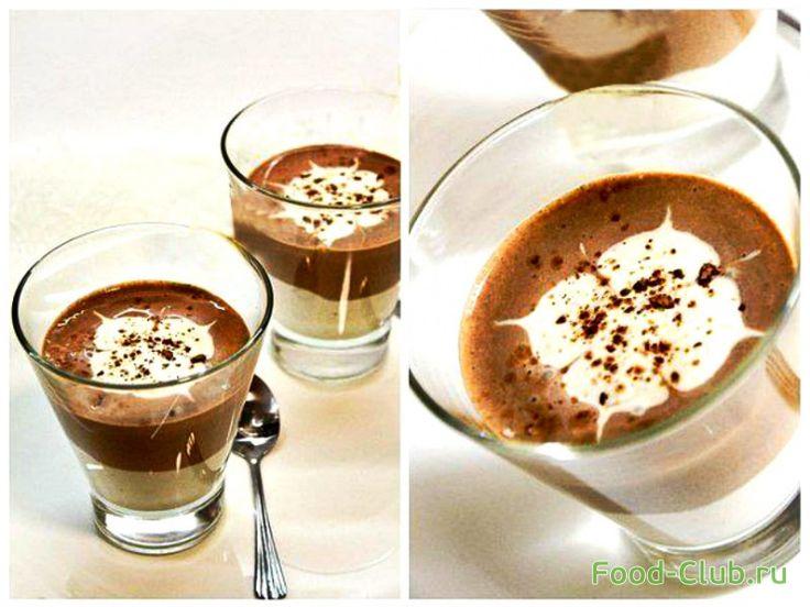 Творожно-шоколадный мусс (диета Дюкана) / Желе, суфле и муссы / Кулинарные рецепты - Фуд-клаб.ру
