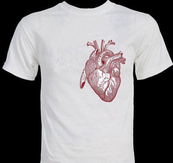 big heart beautiful anatomy t shirt - T Shirt Design Ideas Pinterest