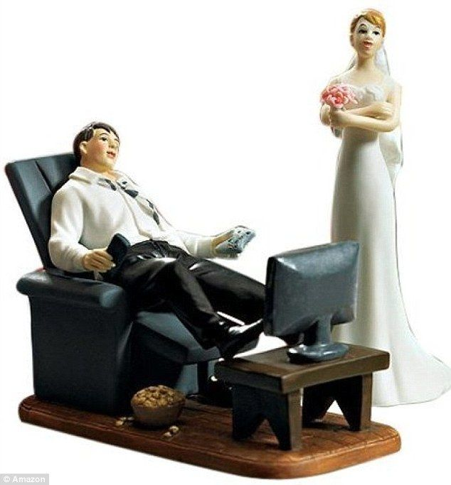 Inappropriate Wedding Cake Toppers