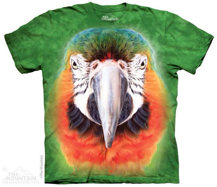 Big Face Parrot T-Shirt Order now: http://prikid.eu/big-face-parrot-t-shirt/ #parrot #ara #tshirt #look