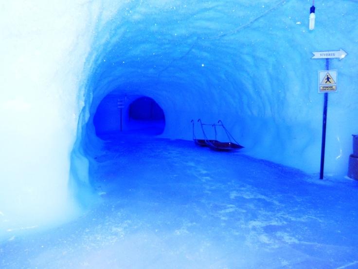 Cueva de hielo.