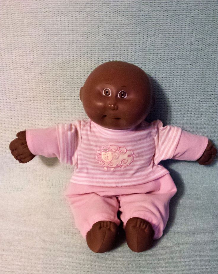 Cabbage Patch Xavier Roberts 1984, CPK Preemie, black, bald, Appalachian Arts, African American by KathleenNCo on Etsy