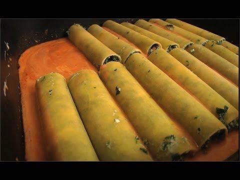Cannelloni z rikotą i szpinakiem