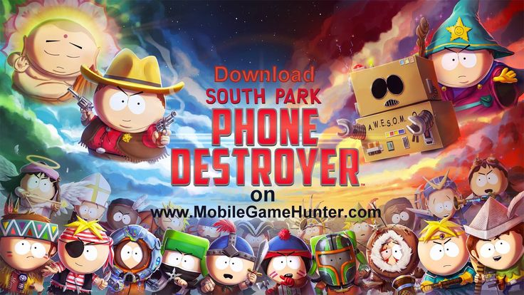 The Amazingly Insane South Park: Phone Destroyer is the first venture into the mobile platform, and so far looks like another smash hit for the creators Matt Stone and Trey Parker. #SouthParkPhoneDestroyer #mobilegame #games #iosgames #androidgames