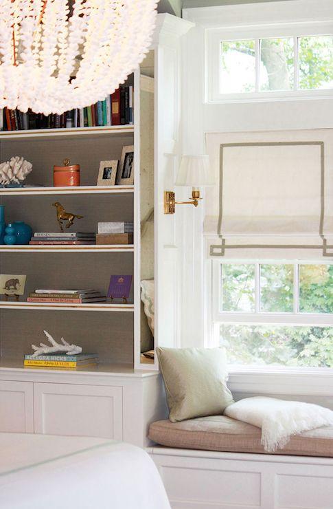 20 best grasscloth bookcases images on pinterest home - Bookshelf ideas for bedroom ...