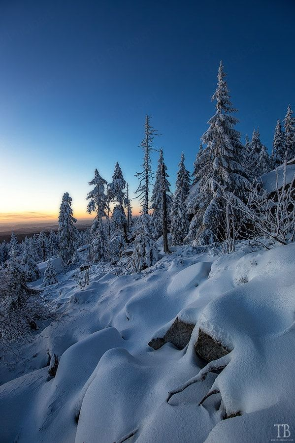 Day's End (Fichtel Mountains, Germany) by Thomas Buchmann / 500px