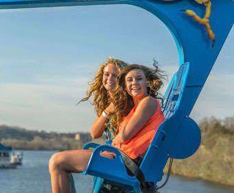 """Parakeet Pete's Waterfront Zipline at Branson Landing    """"DONE"""""""