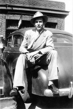 Hank Williams, country singer known for pioneering modern country music.