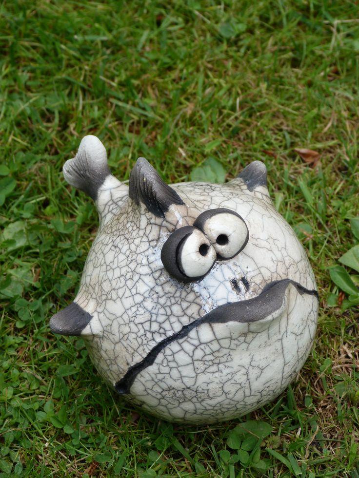 sad fish | Fishes | Raku pottery, Pottery sculpture und ...