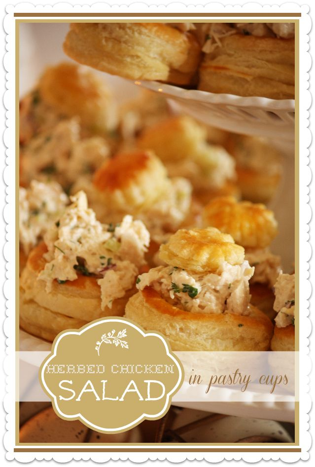 HERBED CHICKEN SALAD  ~ Roasted chicken is the key to this great chicken salad.