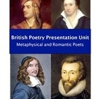 Shall we talk about love? This British poetry unit covers the best metaphysical and Romantic poets while addressing all the Common Core State Stand...