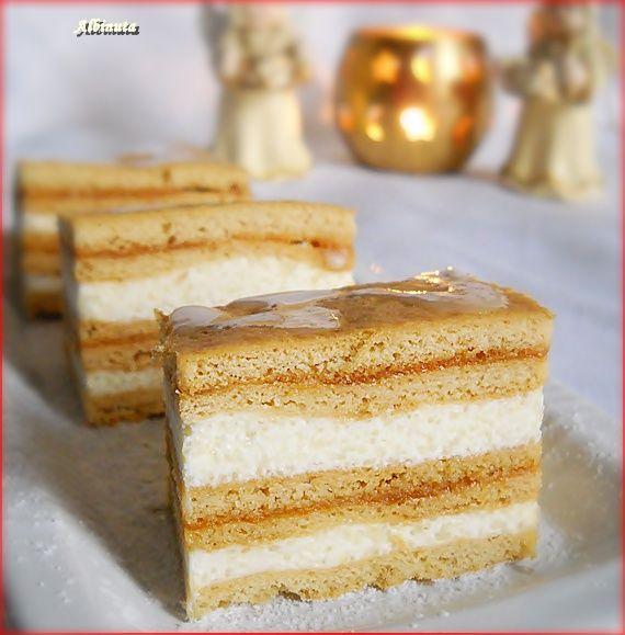 Bucataresele Vesele-retete culinare,retete ilustrate: Albinita - Prajitura cu miere de albine