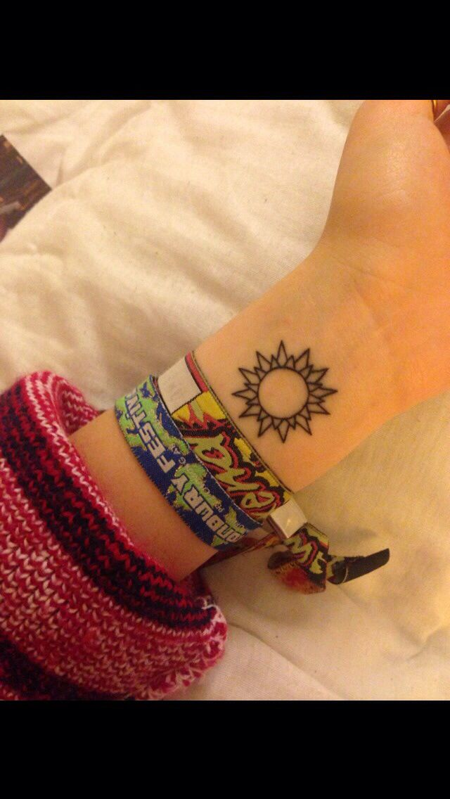 I think this is my Favorite sun tattoo