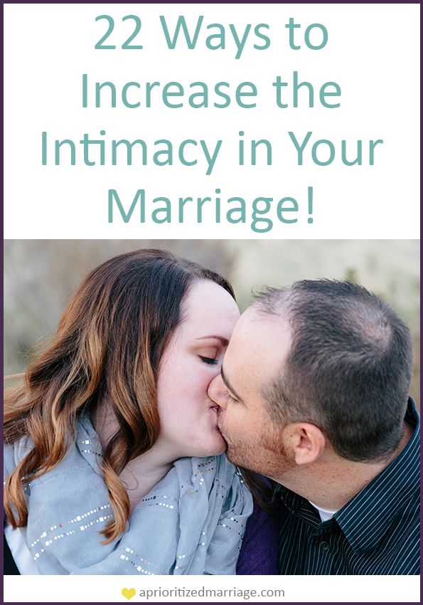 Intimacy is so much more than the physical aspect of a relationship. These tips will help you increase the intimacy in six areas of your marriage.
