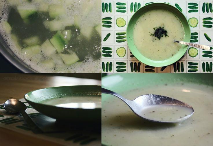 Kremowa zupa z cukini