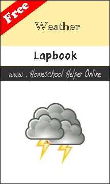 Here's a free set of templates and foldables for a lapbook on weather.