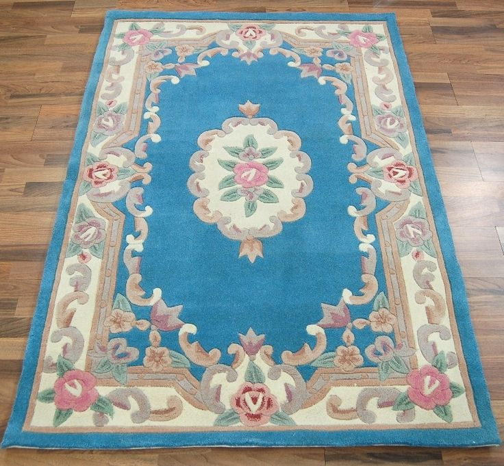 dynasty wool - blue image 1--  http://www.modern-rugs.co.uk/page/product.cfm?id=5132