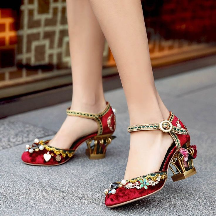 149.99$  Watch here - http://alivt9.worldwells.pw/go.php?t=32789844145 - Designer Summer Womens Rose Pumps Sale Embroidery Sheepskin Ladies Mary Janes Luxurious Handmade Women Ankle Strap Wedding Shoes