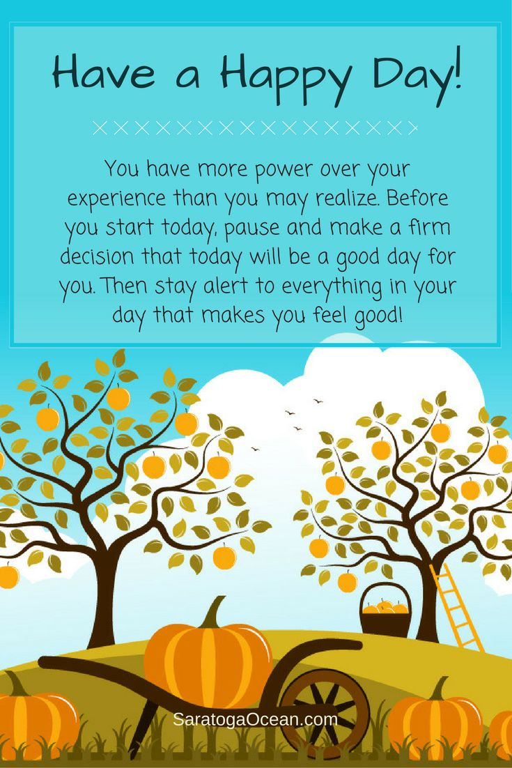 Let's decide to have a happy day today. If you just move into your day without thought, anything can happen - good or bad. Instead, try setting a positive intention at the start of your day. This will help your brain to focus on the good things, and ignore the bad. When you focus on what makes you happy and grateful, you don't notice unpleasant things so much. And thus, you will have a much better day! Sending you all love and hugs <3
