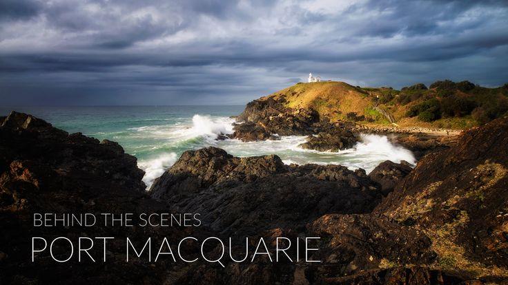 Behind the Scenes -  Port Macquarie - Andrew Cooney