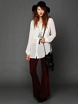 Flare Pants, Portraits Flare, Velvet Pants, Freepeople Com, Free People Clothing, Self Portraits, Inspiration Outfit, Awesome Pants, Clothing Boutiques