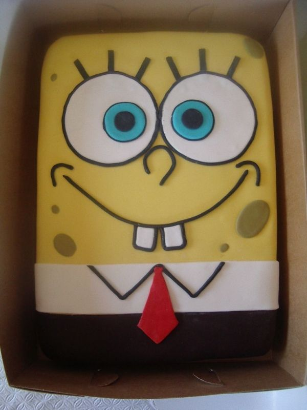 spongebob... want this for my next bday cake