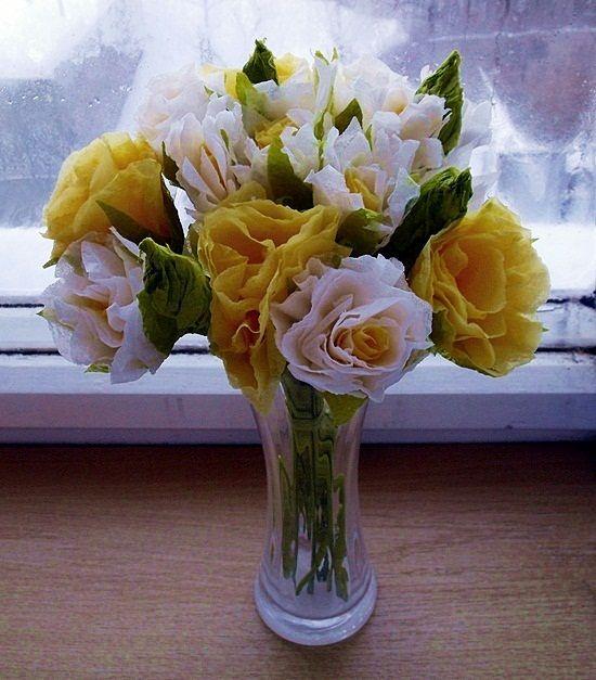 Papírové květiny - Janinčino jaro :)