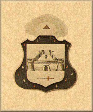 Brasão do Grau de Mestre Eleito dos Quinze - Rito Escocês Antigo e Aceito