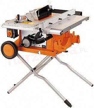 Piła stołowa Aeg TS 250 K. Aeg. Dane techniczne:  Silnik dużej mocy: 1800W  Dokładne, niewymagające wysiłku cięcie: 4.800 obr/min  Głębokość cięcia 90 mm (53 mm przy 45 st.)