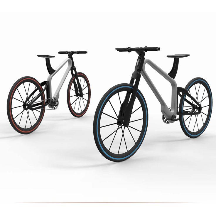 'illume' bicycle by Nikhil Kapoor #morfae #nikhilkapoor #bicycledesign #bicyclesafety #design