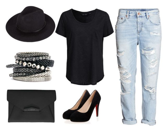 Untitled #114 by maria-belen on Polyvore featuring New Look, Givenchy and H&M