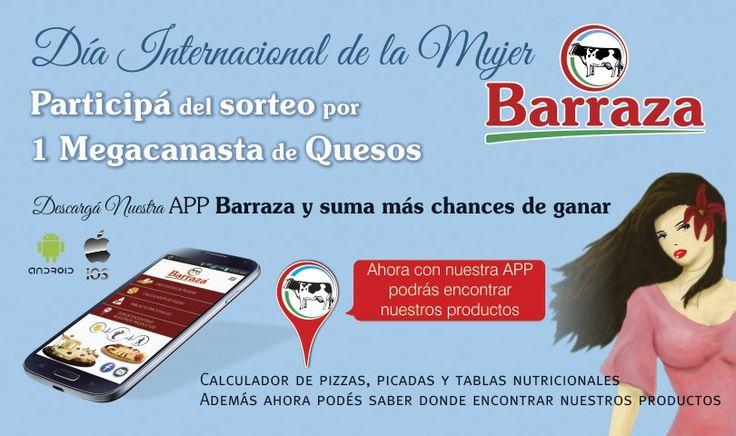 Barraza homenajea a las mujeres en su día!