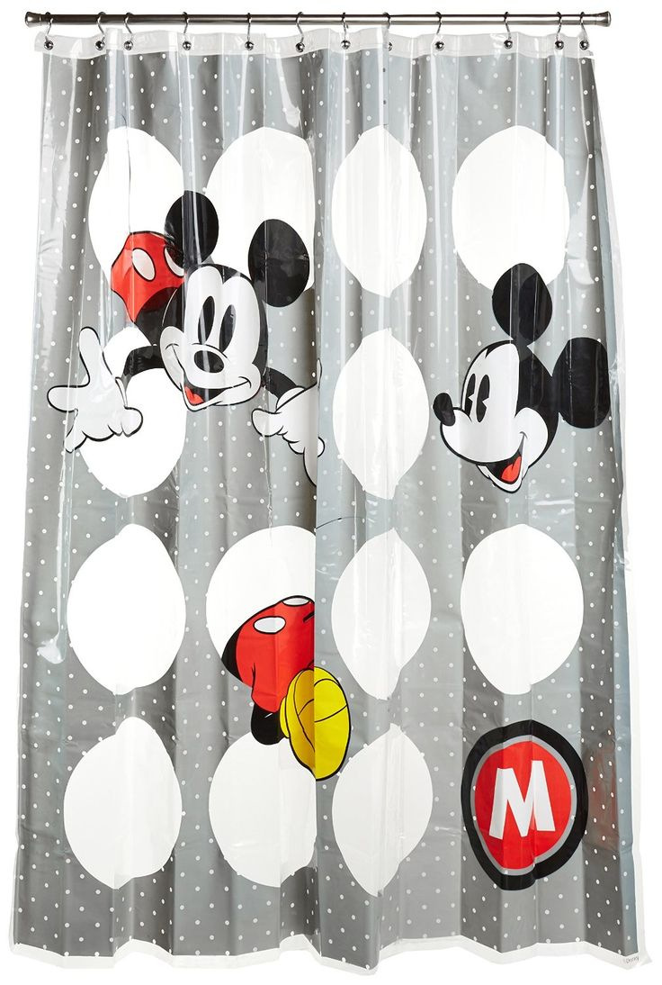 Exceptional Mickey Mouse Shower Curtain