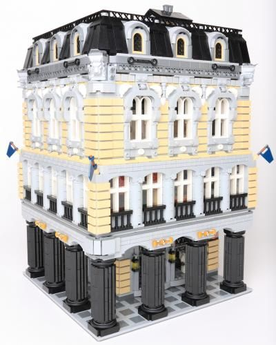 431 best LEGO images on Pinterest   Lego modular, Lego architecture ...