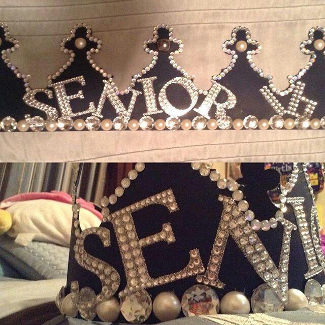 Like what you see⁉ Follow me on Pinterest ✨: @joyceejoseph ~   Senior Crown #SeniorCrown