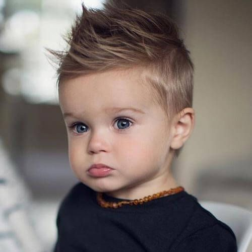Spiky Haircut For Little Boys