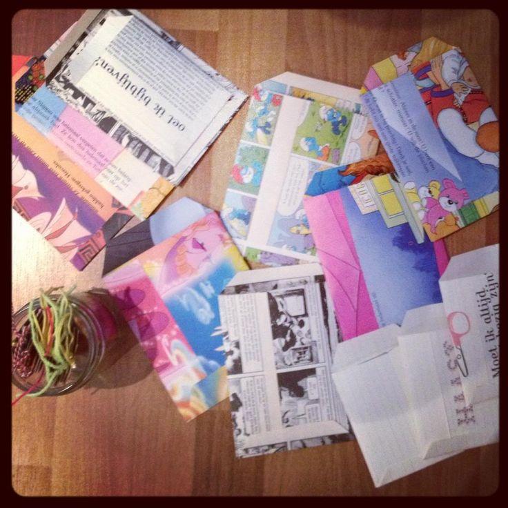 DIY inpakken - De Groene Meisjes