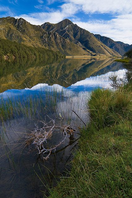 Lake Moke, Queenstown, Otago, New Zealand