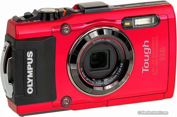 Olympus TG-4 Waterproof Camera Review