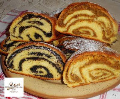 Receptek, és hasznos cikkek oldala: Zalai fodros mákos-diós rétes