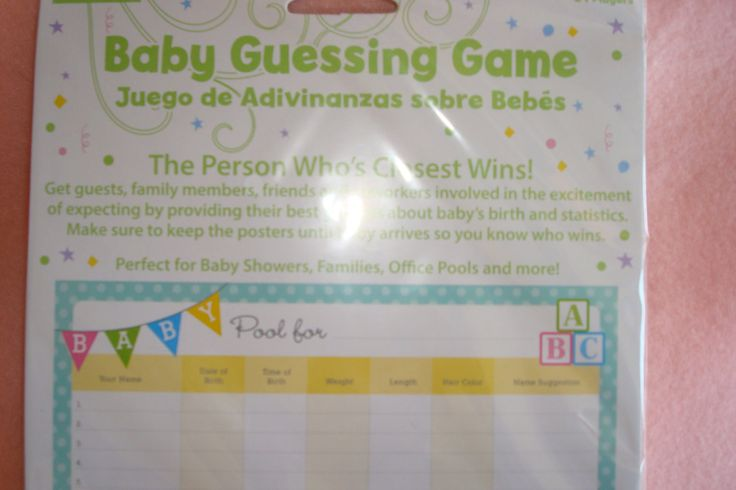 game baby shower games baby office pool unisex baby shower new