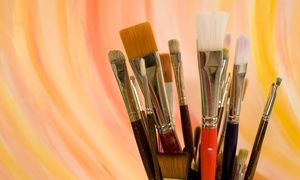 Groupon - Glass-Painting and DIY Body-Scrubs Class for One, Two, or Four at Creative Martini & Paint Club (Up to 69% Off) in Multiple Locations. Groupon deal price: $20