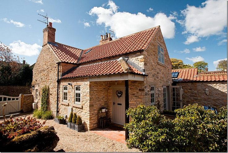 Beautiful Cottage #stone #exterior
