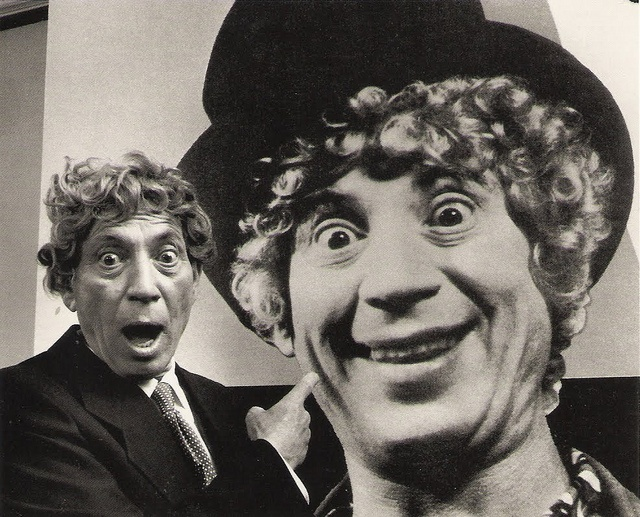"""""""I am the most fortunate self-taught harpist and non-speaking actor who has ever lived."""" - Harpo Marx"""