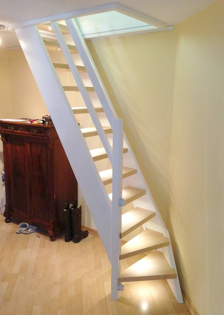 Best Compact Attic Stairs Loft Ladder With Small Turn At The Bottom To Save Space Boys Room Attic 400 x 300