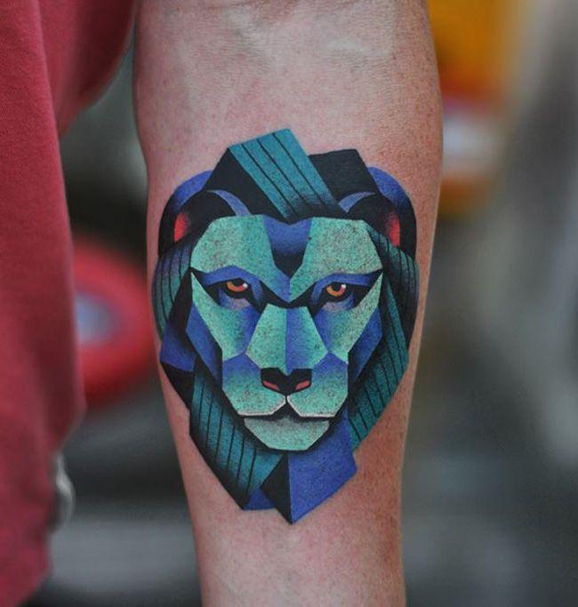 Lion Forearm   Best tattoo ideas & designs