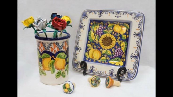 Coppola Artistica.Made/painted by hand From different regions of Italy,large assortment and custom order available!