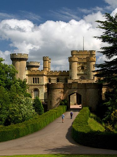 Eastnor Castle, Herefordshire, England