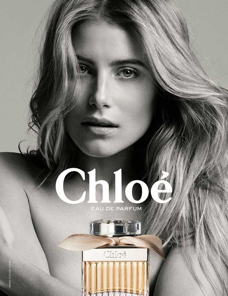 Publicité du parfum Chloé Eau de Parfum de Chloé